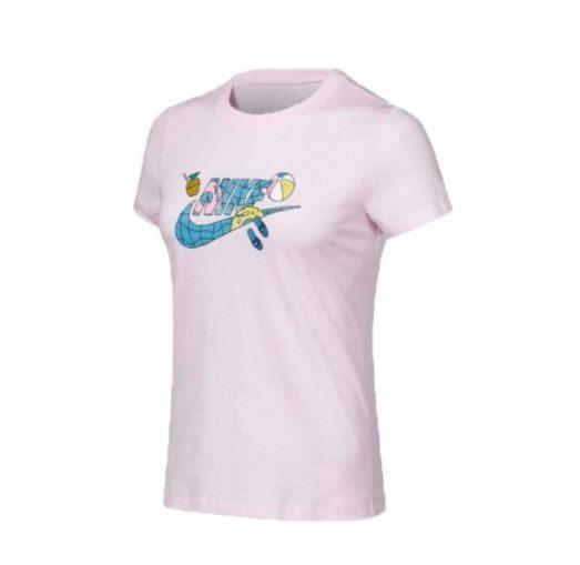 NIKE服飾系列-NSW TEE SU FUN 3女款粉色短袖上衣-NO.CI1130663