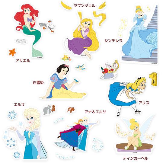 尼德斯Nydus~* 迪士尼 公主系列 愛麗絲 冰雪奇緣 艾莎 白雪公主 小精靈 開關貼紙 牆貼 壁貼 開關貼