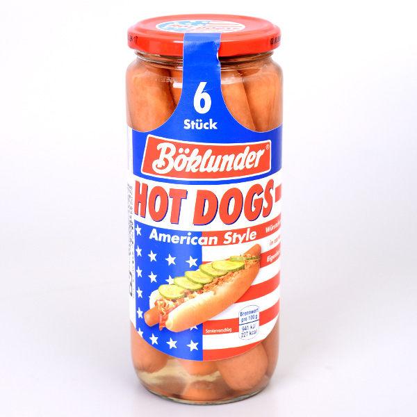 德國【BOK】美式煙燻熱狗 (6條入)