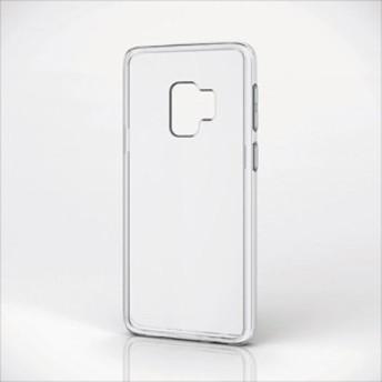 Galaxy S9 SC-02K SCV38 GalaxyS9 SC02K 用 ハイブリッドケース 極み 衝撃吸収 耐衝撃 クリア エレコム PM-GS9HVCKCR