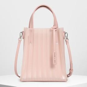 トランスルーセント トートバッグ / Translucent Tote Bag (Pink)