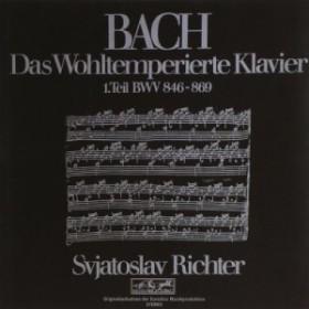【CD輸入】 Bach, Johann Sebastian バッハ / Well-tempered Clavier Book,  1,  :  Sviatoslav Richter(P) (1970)