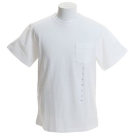 エクストララージ 半袖 WATER LEAK ポケットTシャツ 01192128-WHITE (Men's)