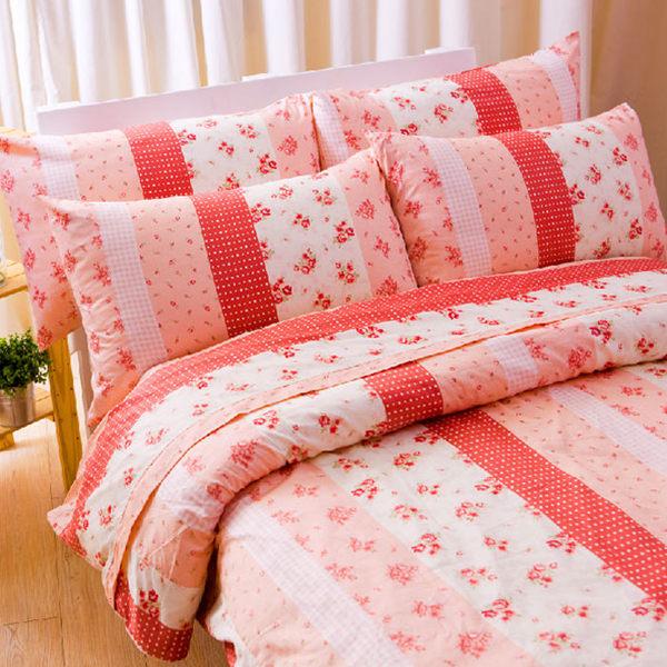 【Jenny Silk名床】花粉之戀.100%精梳棉.加大雙人床罩組全套.全程臺灣製造