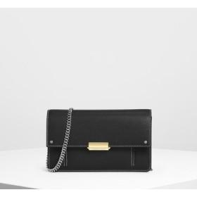コテージスリング チェーンウォレット / Cottage Sling Chain Wallet (Black