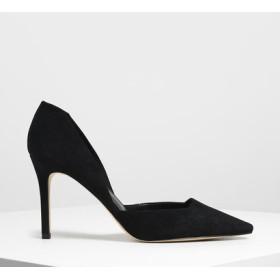 クラシックドルセイ スティレットパンプス / Classic D'Orsay Stiletto Pumps (Black)