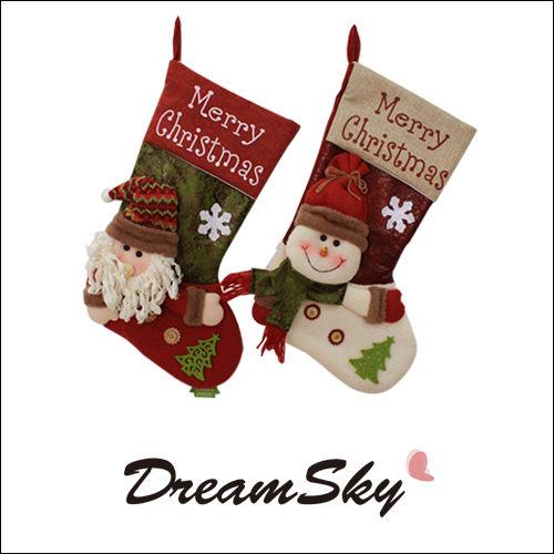 聖誕 襪子 禮物袋 禮品袋 禮物襪