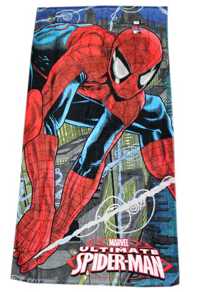 【卡漫城】 蜘蛛人 浴巾 ㊣版 spiderman 毛巾 大浴巾 海灘巾 游泳 泡湯 純棉 Marvel 漫威 洗澡 小涼被