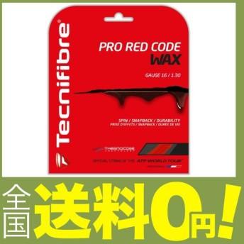 テクニファイバー(Tecnifibre) テニス ストリングス PRO RED CODE WAX ゲージ1.30mm レッド(RD) TFG522