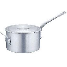 AKT8230 片手深型鍋アルミニウム(アルマイト加工) (目盛付)TKG 30cm :_