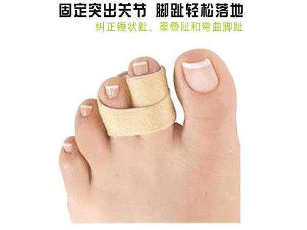 分趾器 腳趾彎曲矯正器錘狀趾整形矯正器重疊趾分指器男女成人可穿鞋 moon衣櫥