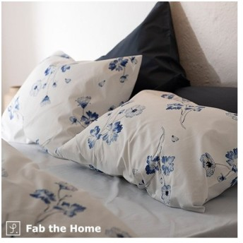 Fab the Home〜Botanica ボタニカ〜枕カバー 44×64cm ピローケース 日本製 綿100% ピロケース(43×63cm用) 合わせ式