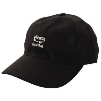 PGAC(PGAC) リネン刺繍キャップ skart dog 897PA9ST1735 BLK (Men's)