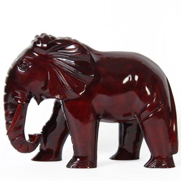 商品尺寸兩種以上需詢問後再下單紅木大象雕