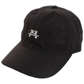PGAC(PGAC) リネン刺繍キャップ SK8 897PA9ST1745 BLK (Men's)