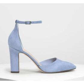 クラシックドルセイ パンプス / Classic D'orsay Pumps (Light Blue)