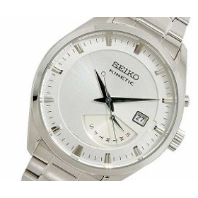 腕時計 メンズ セイコー SEIKO KINETIC クオーツ SRN043P1 シルバー