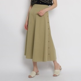 [マルイ]【セール】【Lサイズあり洗える】サイドボタンロングスカート/エージー バイ アクアガール(AG by aquagirl)