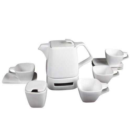 茶壺組-(白色 )