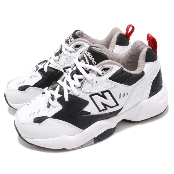 New Balance 慢跑鞋 608 NB IU 李知恩 白 黑 韓系 運動鞋 老爹鞋 男鞋 女鞋【PUMP306】 WX608RB1D