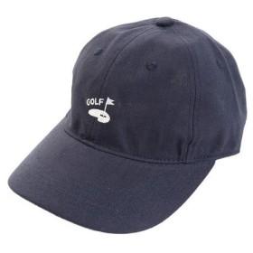 PGAC リネン刺繍キャップ 897PA9ST1743