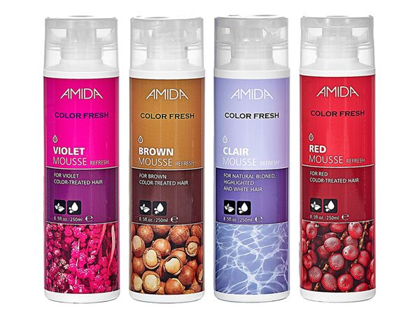 Amida~紫綴/極棕/矯色/艷紅 染髮泡膜(250ml) 補色 4款可選【D006478】,還有更多的日韓美妝、海外保養品、零食都在小三美日,現在購買立即出貨給您。