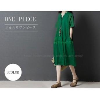 ワンピース レディース 20代 ファッション 女性 膝丈 きれいめ 上品 50代 春 40代 ミセス 60代 30代 半袖 大きいサイズ