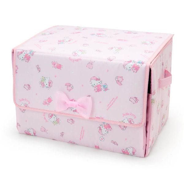 【震撼精品百貨】Hello Kitty 凱蒂貓~HELLO KITTY可前開式收納箱(甜蜜睡衣)