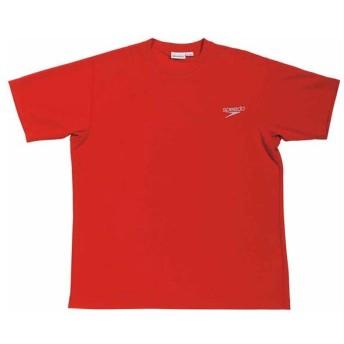 スピード 男女兼用 Team Apparel Tシャツ(レッド・O) Speedo GW-SD14T01-RE-O 返品種別A