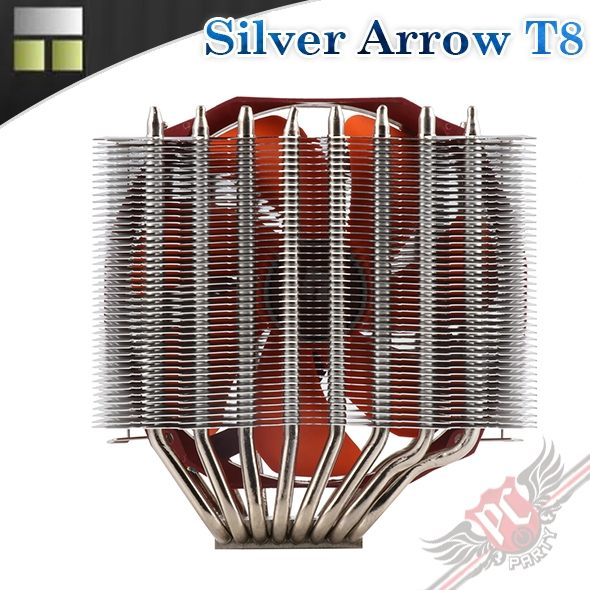 [ PC PARTY ] 利民Thermalright Silver Arrow T8 散熱器