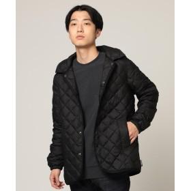 ビームス メン Traditional Weatherwear × BEAMS / 別注 WAVERLY インナーダウン フーディー メンズ OC01_BLACK 42 【BEAMS MEN】