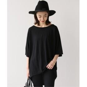 Deuxieme Classe Rayon Tシャツ◆ ブラック フリー