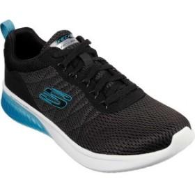 スケッチャーズ メンズ スニーカー シューズ Skech-Air Ultra Flex Walking Shoe Black