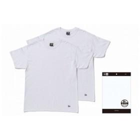 ニューエラ(NEW ERA) 2-Pack Tee ホワイト 11229177 メンズ Tシャツ 半袖 (Men's)