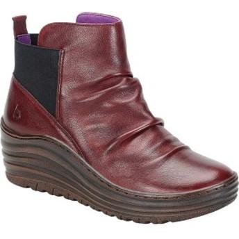 ビオニカ レディース ブーツ&レインブーツ シューズ Gilford Bootie Russet Red Sleek Leather