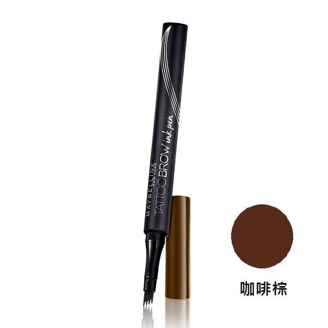媚比琳 四重奏持久眉彩梳-咖啡棕 0.5g