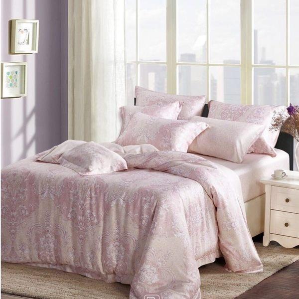 特價中~☆雙人加大 薄床包兩用被四件組 加高35cm☆ 100% 60支純天絲 頂級款《初空》