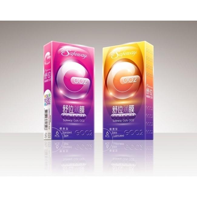 舒位薄膜衛生套G002極潤型6入