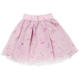 (LODISPOTTO/ロディスポット)Love Rosierスカート/mille fille closet/レディース ピンク 送料無料