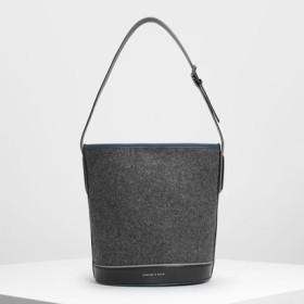 クラシック バケツバック / Classic Bucket Bag (Grey)