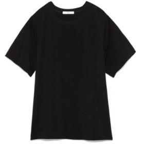 (emmi/エミ)【emmi atelier】デザインTシャツ/レディース BLK