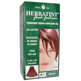 Permanent Haircolor Gel, FF 1 Henna Red, 4.56 fl oz (135 ml)
