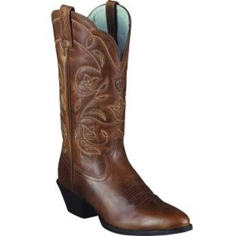 アリアト レディース ブーツ&レインブーツ シューズ Heritage Western R Toe Boot Russet Rebel Full Grain Leather