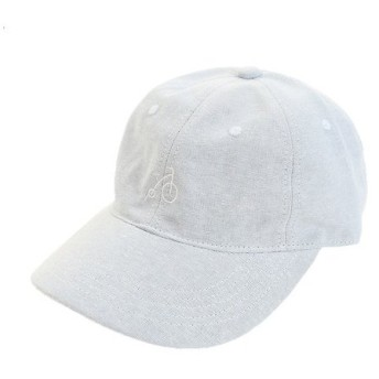 PGAC(PGAC) リネン刺繍キャップ BIKE 897PA9ST1720 LBLU (Men's)