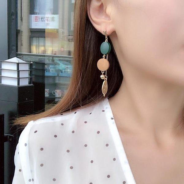 耳環 氣質長款個性百搭耳墜耳環女日式不對稱小鳥耳釘耳飾無耳洞耳夾 魔法空間
