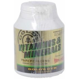 ゴールドジム サプリメント ホエイプロテイン マルチビタミン&ミネラル 180 F2510
