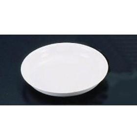 RWZ07401B メラミン 和皿 No40 (3.5寸) 白 :_