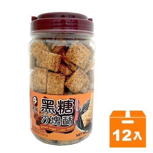 老楊 黑糖 方塊酥 450g (12入)/箱