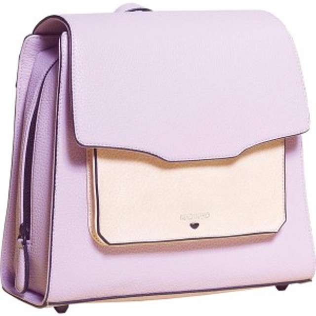アンクリーク レディース バックパック・リュックサック バッグ Medium Everyday Backpack Lilac/Blush Front