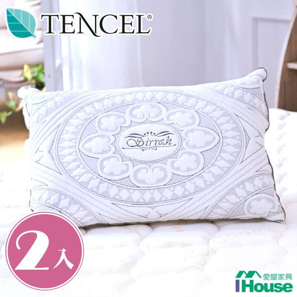 IHouse-TENCEL青森竹炭天絲枕 (2入)